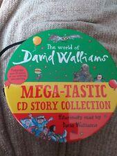 David Walliams Megatastic collection 9 story 32 audio books CD set zip up tin