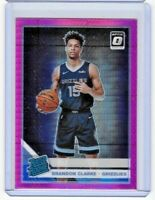 2019-20 Donruss Optic Brandon Clarke Pink Hyper Prizm RC Rookie Grizzlies #194