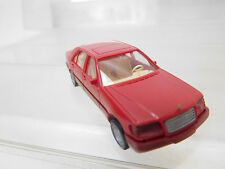 eso-1223Wiking 1:87 Mercedes 500SEL rot sehr guter Zustand