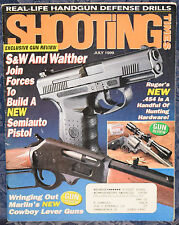 Magazine SHOOTING TIMES July 1999 !NAVY ARMS Model 1885 High Wall .45-70 RIFLE!