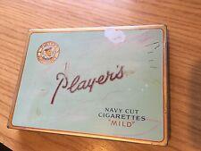 """Players Navy Cut Cigarettes """"Mild"""" Tin - Estate Sale"""