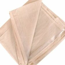 5 X POLY BACKED ECONOMY LAMINATED 12FT X 9FT 100% WATERPROOF COTTON DUST SHEETS