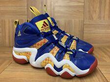 RARE🔥 Adidas Crazy 8 Kobe Bryant Basketball Shoes Sz 10 Royal Yellow Red Blue