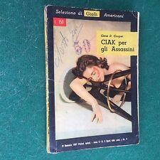 SELEZIONE DI GIALLI AMERICANI n.2 Gene D.Cooper CIAK PER GLI ASSASSINI (1957)