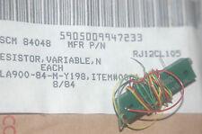 BOURNS RJ12CL105 / 5905-00-994-7233 Vintage Variable Resistor DC-8432 Qty-4