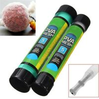PVA Wide Mesh 5 Metres Stocking & Plunger and Free Tube 35mm for Carp Fishing
