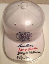 George Blanda Jerry Claiborne Babe Parilli Kentucky Wildcats Signed CFHOF Hat