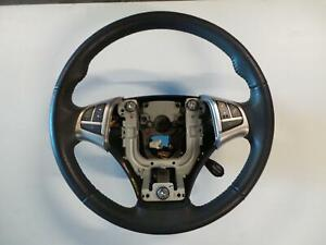 SSANGYONG KORANDO STEERING WHEEL LEATHER, S/SX/SPR, BLACK, C200, 02/11- 11 12 13