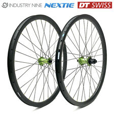 29er Custom Hand Built Carbon Boost Wheels Wheelset 34mm 32H i9 DT Nextie - New