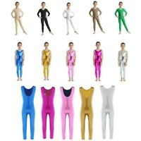Girls Ballet Leotard Kids Sport Gymnastic Jumpsuit Performance Unitard Dancewear
