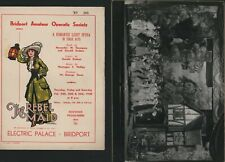 More details for bridport amateur operatic society 1938  'rebel maid' +  photos   e3.285
