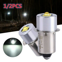 2Pcs P13.5S 18V Cree 3W Led Bulb Replace Ryobi P700 P703 P704 FL1800 Flashlight