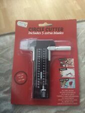 CIRCLE CUTTER INCL 5 BLADES FOR PHOTO/ART WORK/PAPER & CARD NEW