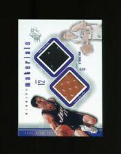 2000-01 SPx Winning Materials: John Stockton Dual Jersey Shoe