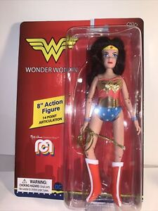 "2020 Mego DC Comics Super Heroes Mego WONDER WOMAN 8"" Action Figure NEW"