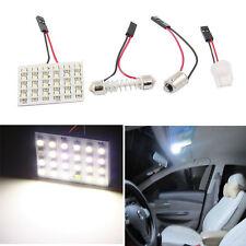 Nuevo LED Panel 24SMD 1210 coche Interior Dome luces lámpara T10 Festoon NuevoH4