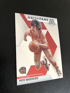 "Pete Maravich ""Hall Of Fame"" 2019-20 Panini Mosaic Basketball NBA Card"