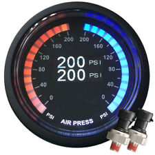 airmaxxx Dual OLED Display 200 PSi Digital Pressure Air Gauge with 1/4