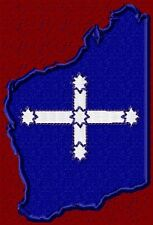 SOUTHERN CROSS FLAG IN STATE OF WA SHAPE