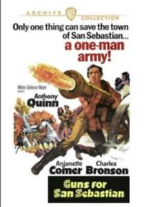 GUNS FOR SAN SEBASTIAN (Region 0 DVD Sealed.)