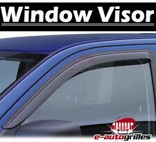 2 Front Door Window Visor Rain Sun Guard Vent Deflector for 05-12 Toyota Tacoma