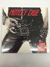 RARE MOTLEY CRUE TOO FAST FOR LOVE IMPORT MINI LP CD MADE ENGLAND leppard guns