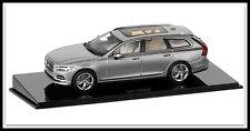wonderful PR-modelcar VOLVO V90 WAGON 2016 -  silver metallic - scale 1/43