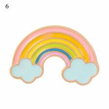 Pin Student Cute Backpack Badge Gift New Cartoon Rainbow Brooch Creative Enamel