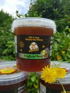 RAW ORGANIC  HONEY 1,5kg .( honey is the same in the photos) NEW HARVEST 2021