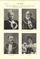 1895 New Sheriffs Of London Cooper Pound Ben Johnson Love A Man