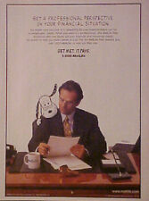 1996 Peanuts SNOOPY Amimation Art Met Life Financial AD