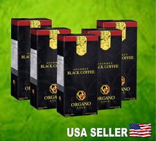 5 Boxes ORGANO GOLD Gourmet Black Coffee Organic Ganoderma Exp 2019  USA Seller!