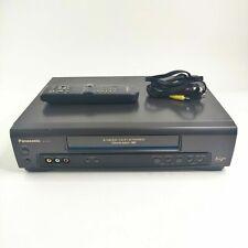 New listing Panasonic Vcr+ Cassette Recorder Player 4 Head Hi-Fi Stereo Pv-7451 W/ Remote