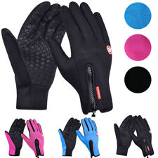 Unisex Winter Warm Windproof Skidproof Anti-slip Thermal Touch screen Gloves UK