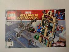 LEGO Instruction Notice Marvel Super Heroes Spider-Man (9473) livre 3