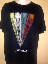 JASON MRAZ TOUR IS A FOUR LETTER WORD NEW YORK CITY 2012 XL T-SHIRT ROCK