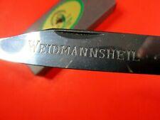 WEIDMANNSHIEL FOLDING POCKET KNIFE GERMANY VINTAGE NIB NOS MINT TRICK LOCK RARE