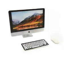 Dollhouse 3Pcs Set Brand Desktop Computer 1:6 Miniature Keyboard Mouse Accessory
