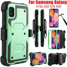 For Samsung Galaxy A10e A20s A30s A50s A51 A01 Shockproof Armor Clip Case Cover
