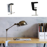 Adjustable Clamp Table Lamp Clip Desk Clamp Holder Metal Stand 90mm 2 Type