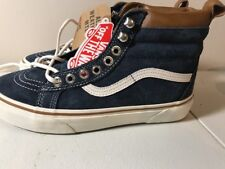 Vans Scotchgard leather All weather MTE blue shoes size men 5.5 women's 7