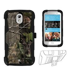 Beyond Cell Shell Case Armor Kombo For HTC Desire 526 Hunter Tree Camo Hunter...