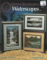 Waterscapes in Counted Cross Stitch Cross My Heart CSB-84 1993