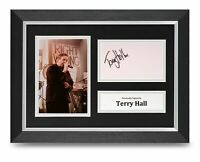Terry Hall Signed A4 Framed Photo Display The Specials Autograph Memorabilia COA
