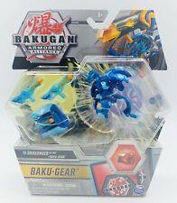 Bakugan S2 Ultra Armored Alliance, Aquos Dragonoid with Transforming Baku-Gear