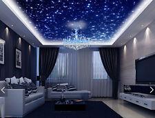 3D Viele leuchtende Sterne 75 Fototapeten Wandbild Fototapete BildTapete Familie