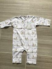 Kissy Kissy Unisex Noahs Print Sleepsuit Playsuit Babygro 6-9 mths BNWT RRP £31