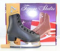 American Athletic Shoe Boy's Tricot Lined Figure Skates- 9Y