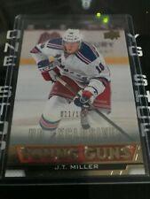 2013 14 UD YOUNG GUNS J T MILLER EXCLUSIVES 011 /100 RC MINT +FREE COMBINED S&H