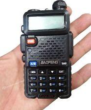 RICETRASMITTENTE BAOFENG VHF UHF FM SISTEMA DSP CTCSS RADIO DIGITALE DUAL BAND